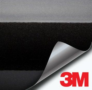 3M Gloss Black Metallic vinyl wrap