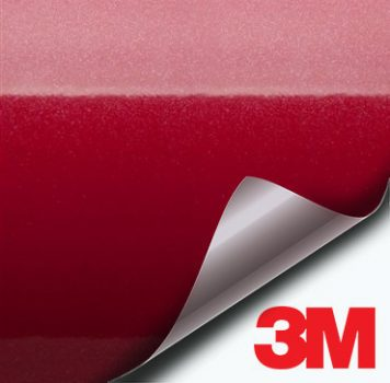 3M Gloss Metallic Red vinyl wrap