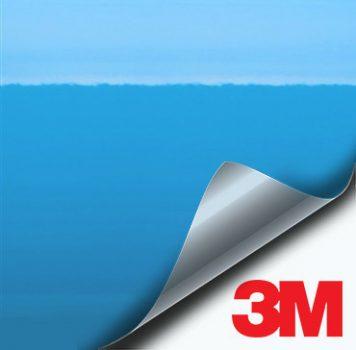 3M Gloss Sky Blue vinyl wrap