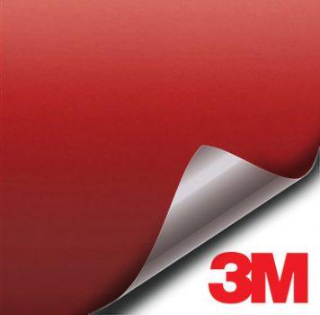 3M Matte Red vinyl wrap