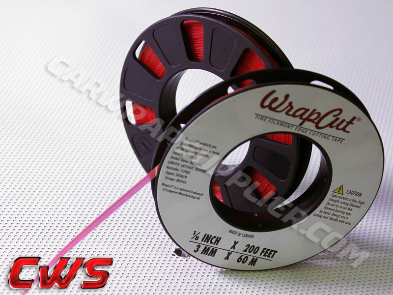 WrapCut edge cutting tape