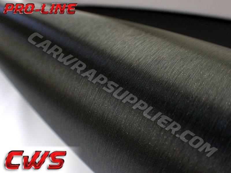 Black Brushed Aluminum Vinyl