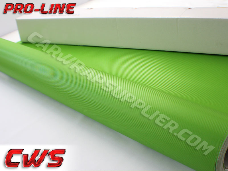 Carbon Fiber 3d Green Lime 187 Cws