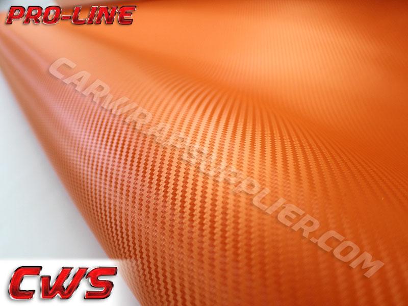 Carbon Fiber 3d Orange 187 Cws
