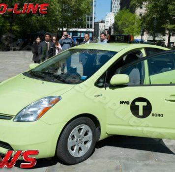 NY Livery Taxi Cab Apple Green Gloss Vinyl Wrap