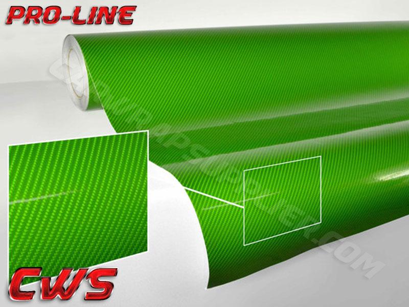 Carbon Fiber Tech Art Green 187 Cws