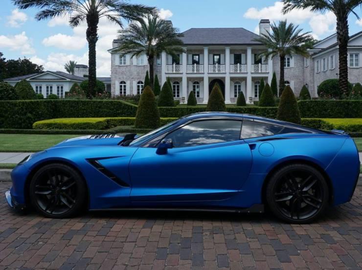 Matte Blue Car >> Premium Matte Metallic Blue Ghost