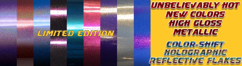 New Car Wrap Colors