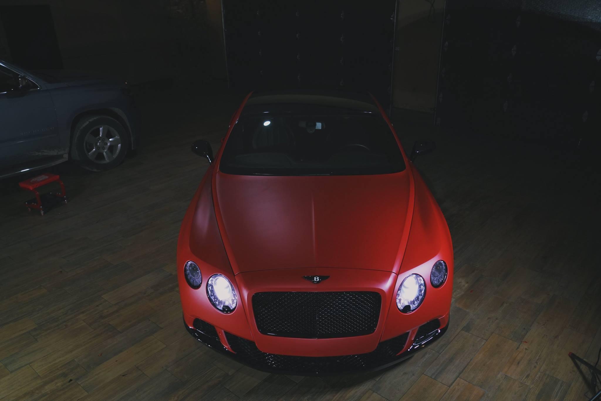 Premium Matte Metallic Red Lava Ghost 187 Cws