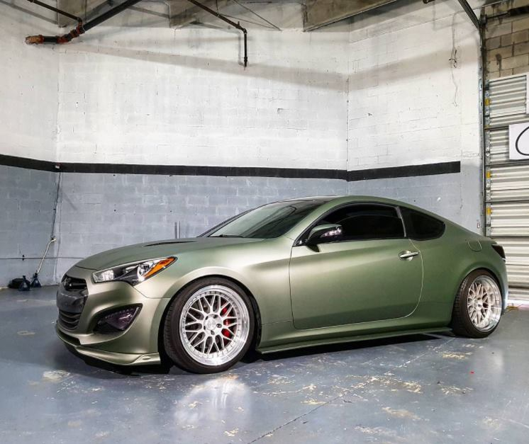 Premium Matte Metallic Green Military Ghost Cws