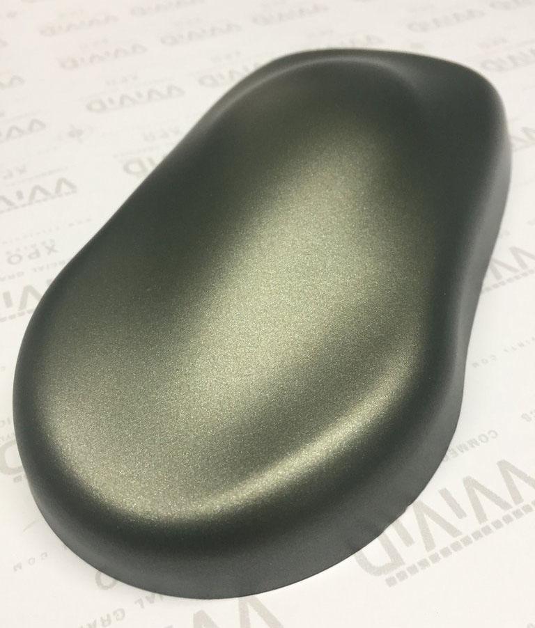 Premium Matte Metallic Green Military Ghost 187 Cws