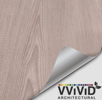 Architectural Vintage Light Grey Wood Contact Film