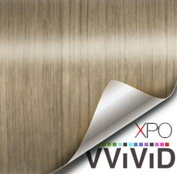 light teak architectural wood grain vinyl wrap
