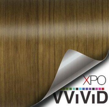 teak architectural wood grain vinyl wrap
