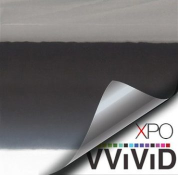Black Chrome Vehicle Vinyl Film