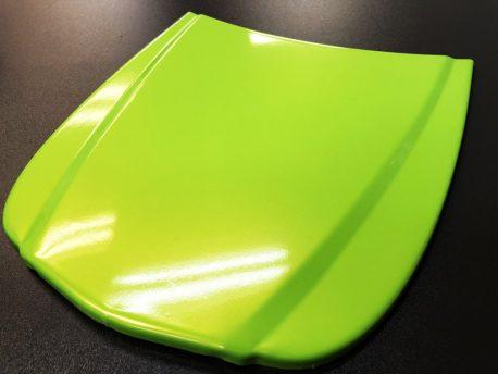 Premium Plus Radioactive Lime Gloss car wrap vinyl film