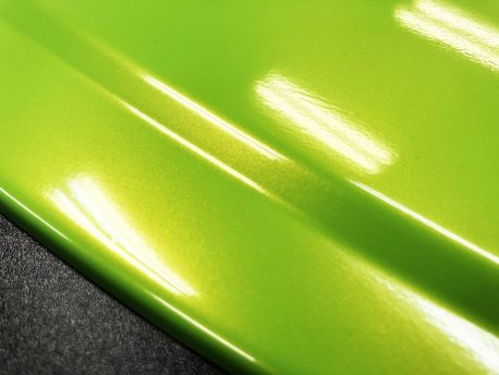 Premium Plus Radioactive Lime Gloss car wrap vinyl film