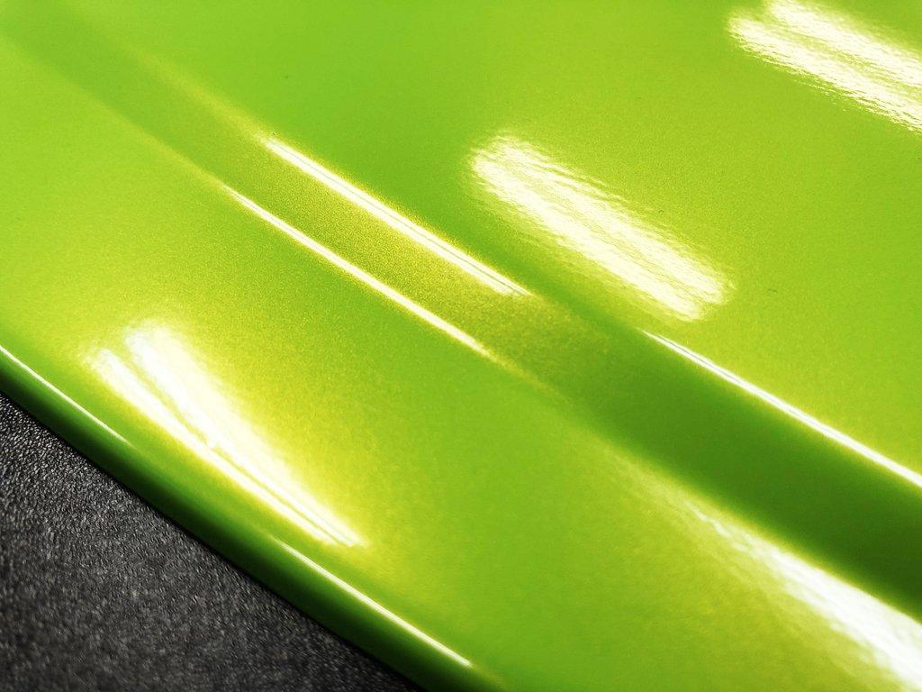 Premium Gloss Metallic Green Radioactive Lime 187 Cws