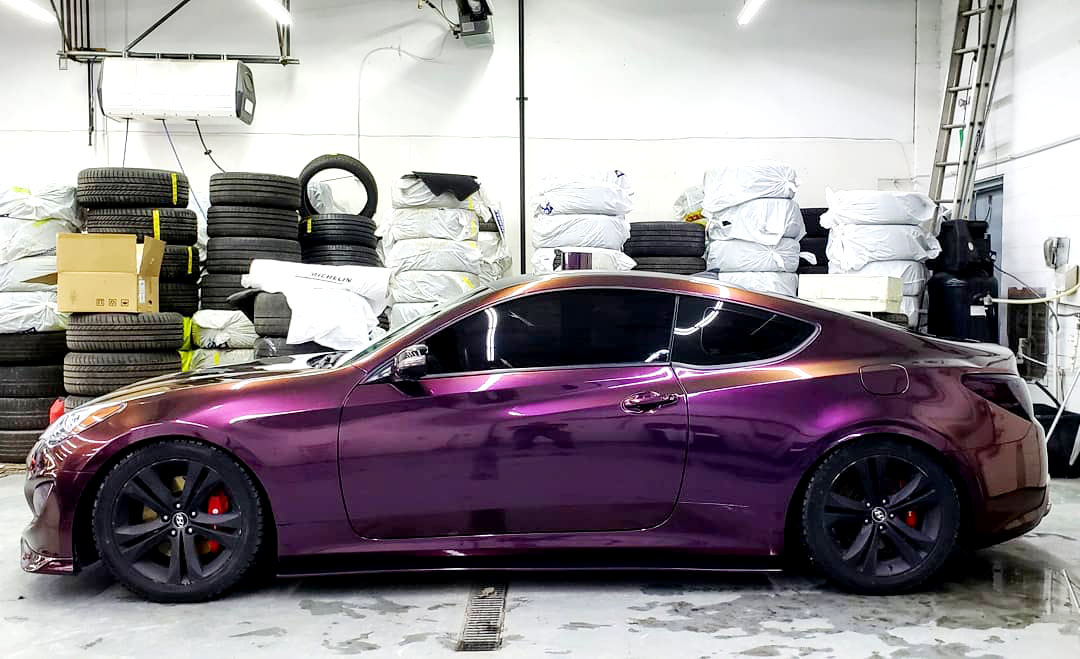 Premium Gloss Metallic: Nightshade Purple Ltd