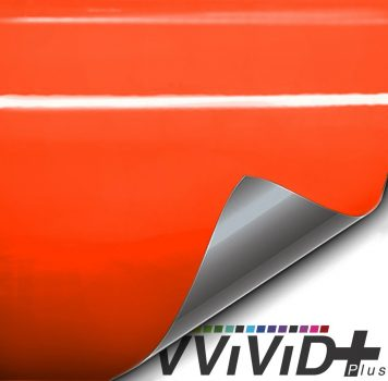 Premium Plus Gloss Orange car wrap vinyl film