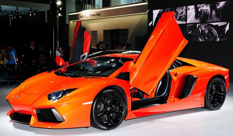 Premium Gloss Orange Lamborghini 187 Cws