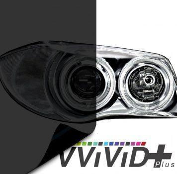 Dark Smoked Headlight Tint for cars