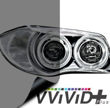 Light Smoked Headlight Tint for cars