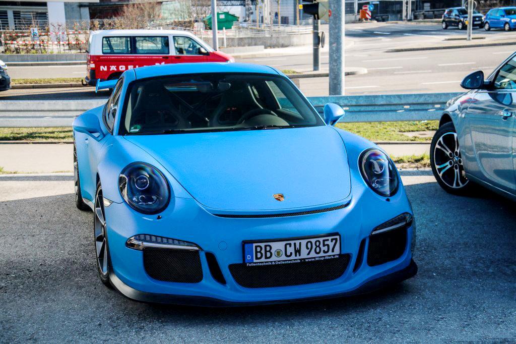 Premium Matte: Blue Smurf - GT3 Blue » CWS