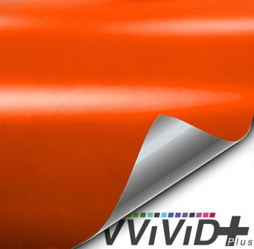 Premium Plus Matte Orange car wrap vinyl film