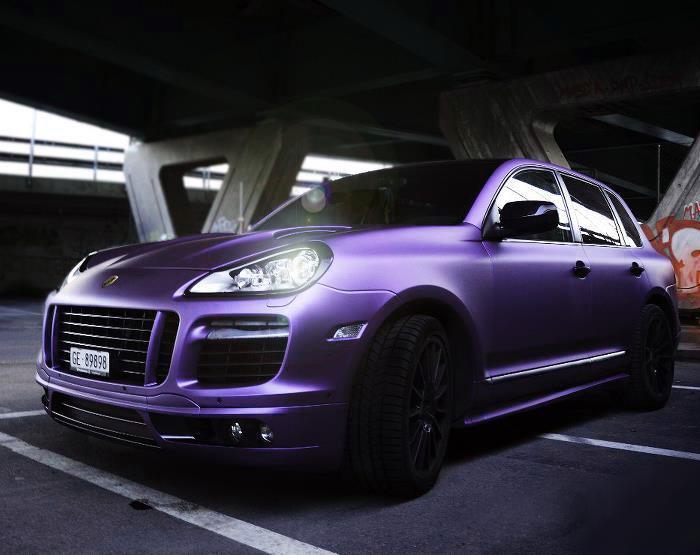 Premium Matte Purple Midnight 187 Cws