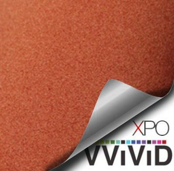 Brown Suede Velvet Car Wrap Vinyl Film